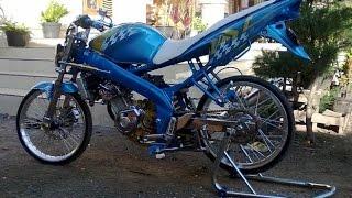 getlinkyoutube.com-Motor Trend Modifikasi | Video Modifikasi Motor Yamaha Vixion Drag Style Terbaru