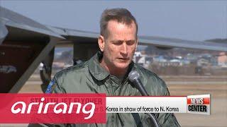 U.S. Flies Four F-22 Raptors Over S. Korea in Show of Force to N. Korea