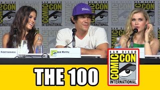getlinkyoutube.com-The 100 Comic Con Panel 2015 - Eliza Taylor, Marie Avgeropoulos, Bob Morley, Ricky Whittle
