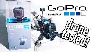 getlinkyoutube.com-Vlog   GoPro Hero5 Session on a Race Drone!