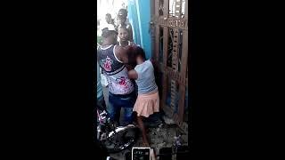 getlinkyoutube.com-Pelea de mujeres en Guaricanos a Machete