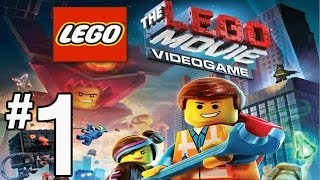 getlinkyoutube.com-The Lego Movie Videogame Walkthrough - PART 1 - Lord Business & The KRAGLE!!!