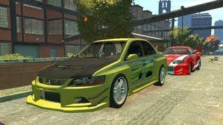 getlinkyoutube.com-Fast And Furious Real Car GTA 4