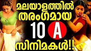 Top 10 Superhit B Grade Movies in Malayalam
