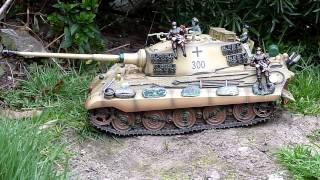 getlinkyoutube.com-RC Tank Tigre Royal Full Metal System Elmod 001 18/03/2014