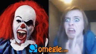 getlinkyoutube.com-Pennywise goes on Omegle!