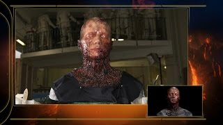 Star Wars Episode III: Burnt Anakin Head Featurette