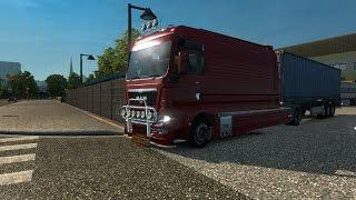getlinkyoutube.com-Euro Truck simulator 2. Мод MAN TGX XXL Loneline (Ссылка в описании)