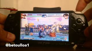 getlinkyoutube.com-The King Of Fighters 2002 plus PSP