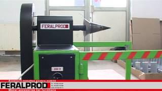 getlinkyoutube.com-Feralprod - Masina de crapat lemne