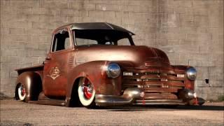 """Dirty Diablo"" Slammed Hot Rat Street Rod Patina Shop Truck FOR SALE!"