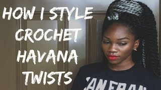 getlinkyoutube.com-9 DIFFERENT WAYS STYLING CROCHET HAVANA TWISTS