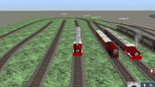 getlinkyoutube.com-Release of the TUGS characters as engines in Trainz!!!