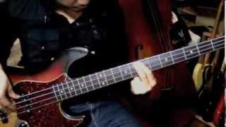 getlinkyoutube.com-竹内まりや September (Bass Cover)〜フォーカルジストニアのベーシストが弾く〜
