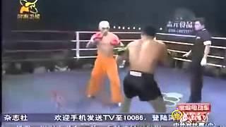 "getlinkyoutube.com-WLF !!! Full muaythai rules!! Shaolin monk Yi long VS thailand TOP muaythai champion "" Mai Saenchai"""