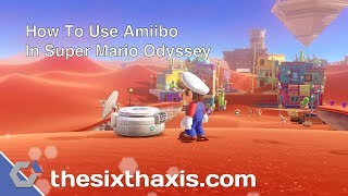 How To Use Amiibo In Super Mario Odyssey & What They Unlock