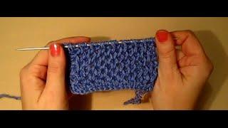 getlinkyoutube.com-УЗОР СОТЫ! ВЯЗАНИЕ СПИЦАМИ!Вязание для начинающих.knitting Распространенная вязка спицами