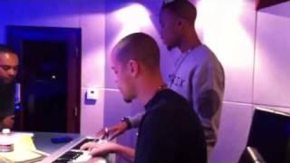 B.o.b & j. cole en studio