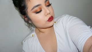 getlinkyoutube.com-Copper Makeup Tutorial | Morphe 35O
