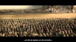 getlinkyoutube.com-O Senhor dos Anéis - Batalha de Pelennor - Discurso de Théoden