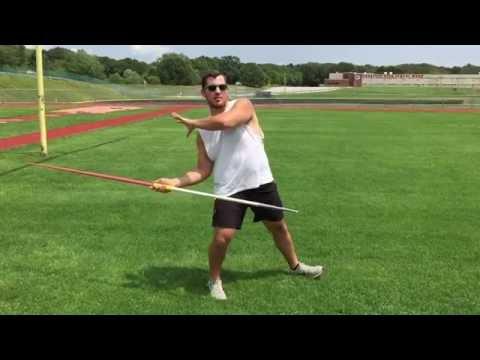Javelin Throw | Proper Standing Throw Mechanics and Release | www.EliteThrowsCoaching.com