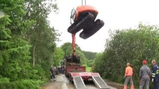 getlinkyoutube.com-The Tale Of The Stuck Excavator. The Rescue Part 2