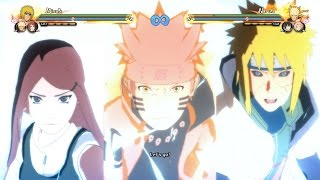 Naruto Shippuden Ultimate Ninja Storm 4 - All Team Ultimate Jutsus