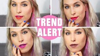♦ TREND ALERT: dwukolorowe usta / two-toned lips ♦ Agnieszka Grzelak Beauty