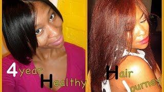 getlinkyoutube.com-4 year Healthy Hair Growth Journey