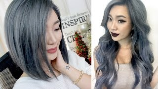getlinkyoutube.com-ALL about my GREY/SILVER HAIR || with footage & photos