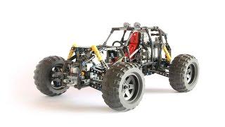 getlinkyoutube.com-LEGO TECHNIC 4X4 NIGHTMARE BUGGY