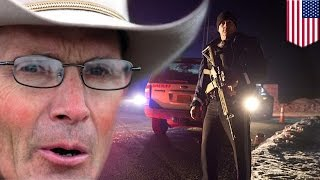 getlinkyoutube.com-Oregon occupiers arrested, LaVoy Finicum killed during police standoff shooting - TomoNews
