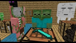 getlinkyoutube.com-Monster School: Crafting - Minecraft Animation