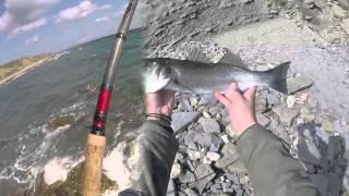 getlinkyoutube.com-ΨΑΡΕΜΑ ΛΑΒΡΑΚΙΑ ΜΕ SPINNING 02/2016 -SEA BASS SPINNING FISHING