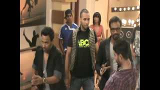 getlinkyoutube.com-D3 Dil Dosti Dance - Behind the scene with ABCD team EXCLUSIVE ;)