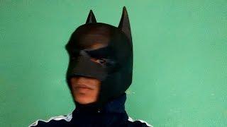 getlinkyoutube.com-como fazer Mascara Batman cavaleiro das trevas ( Dark Knight ) parte 1
