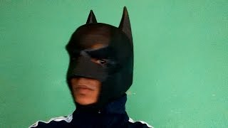 getlinkyoutube.com-Mascara Batman cavaleiro das trevas ( Dark Knight ) parte 1