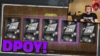 getlinkyoutube.com-PUUURRRRPLLLLEEE CAAARRRRDDD - NBA 2K16 DPOY PACK OPENING