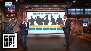 Mike Greenberg and Jalen Rose's worst NBA No. 1 draft picks ever | Get Up! | ESPN