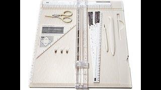 getlinkyoutube.com-Martha Stewart Crafts Deluxe Scoring Board Kit