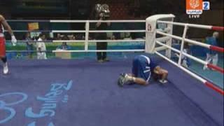 getlinkyoutube.com-تالق الملاكمة الجزائرية رغم الظلم الواضح للحكام و التحيز