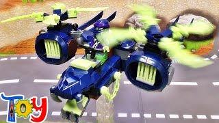 getlinkyoutube.com-elephant 닌자고 레이스 전투기 비행기 레고 짝퉁 조립 리뷰 Lego knockoff Ninjago Wrayth dragon airplane