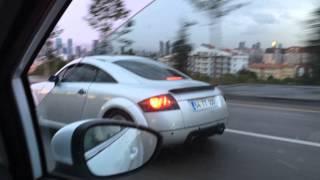 getlinkyoutube.com-Audi TT 1.8t quattro custom exhaust sound vol. 1