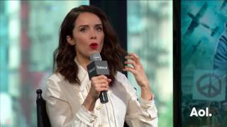 "Abigail Spencer Discusses Her NBC Show, ""Timeless"" 