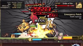 getlinkyoutube.com-[Crusaders Quest] H7-3-8 3rd Holy City - Asamiya May D'artagnan Prestina