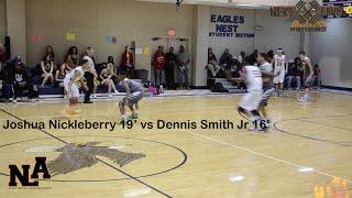 getlinkyoutube.com-Dennis Smith Jr 16' vs Joshua Nickleberry 19' !!! Trinity vs. Northwood
