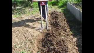 getlinkyoutube.com-Двухштыковая чудо-лопата. Сделай сам. Часть 1. Целина, дерн,огород.