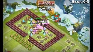 getlinkyoutube.com-#15 Castle clash: Try HBM S with magic tower