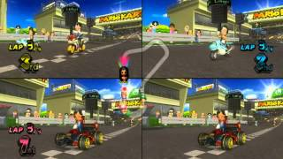 getlinkyoutube.com-ABM: Mario Kart Wii Gameplay Match