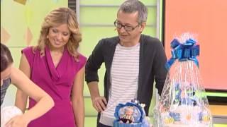 getlinkyoutube.com-Мастер-класс: оформляем подарок для новорожденного